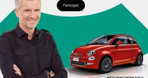 Gagnez une voiture modèle Fiat 500 (13633 euros)