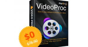 Licence pour le Logiciel VideoProc V3.6 Gratuite