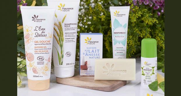 Lot de 5 produits de soins Fleurance Nature offert