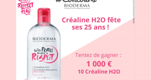 10 Bioderma Créaline Editions Collector Respect offerts