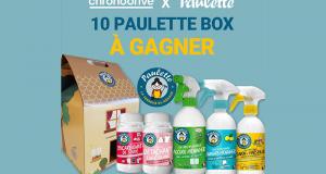 10 Paulette Box remplies de produits ménagers offertes