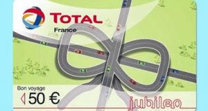 10 cartes cadeau Total de 50 euros offertes