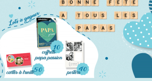10 coffrets Wonderbox Papa passion offerts