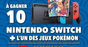 10 consoles Nintendo Switch offertes