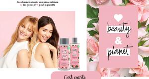 10 lots de 2 produits de soins Beauty and Planet offerts