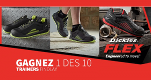 10 paires de Trainers de sécurité Dickies Findlay offertes