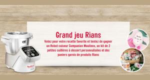 10 paniers garnis de produits Rians offerts