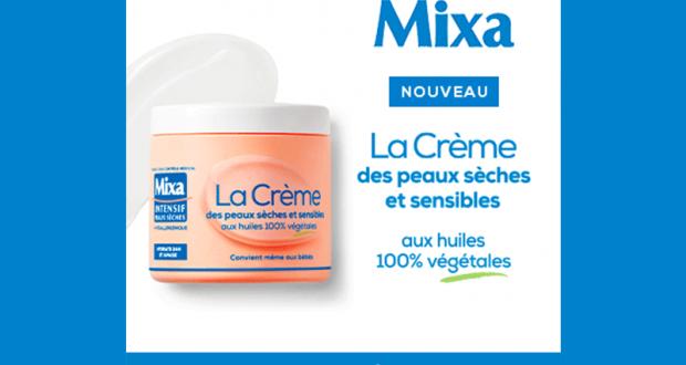100 Crèmes des peaux sèches de Mixa à tester