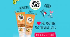 100 duos soins SOS Cheveux Secs de I Love bio by Léa Nature à tester