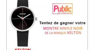 13 montres en argent Kelton offertes