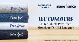 15 T-shirt Père-Fect monsieur Tshirt offerts