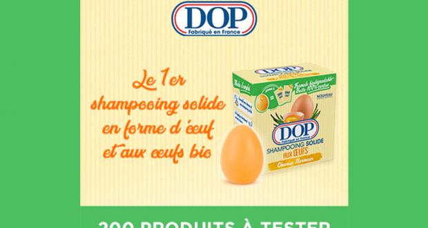 200 Shampooing Solide aux Oeufs de DOP à tester