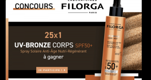 25 produits UV Bronze Corps SPF50 Filorga offerts
