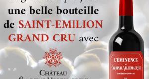 30 bouteilles de vin offertes