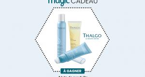 4 lots de 3 produits de soins Thalgo offerts