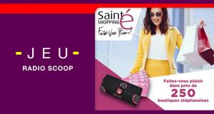 5 bons d'achat Sainté Shopping de 50 euros offerts