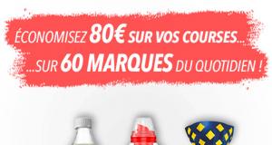 80€ d'économies avec les bons de réduction Coupon Network