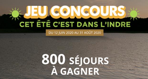 800 week-ends pour 2 personnes dans l'Indre offerts