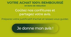 Confiture PureVia 100% Remboursée en Bons d'Achat