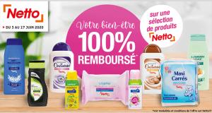 Jusqu'à 8 produits Netto 100% Remboursés