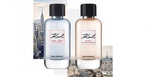 Un duo de Parfums karl Lagerfeld offert