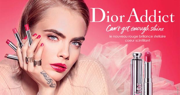 Échantillons Gratuits du Baume Dior Addict Stellar Gloss