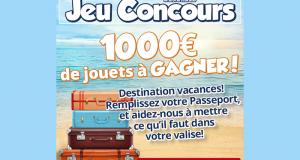 10 cartes cadeau Maxi Toys de 100 euros offertes