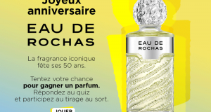 10 eaux de toilette Eau de Rochas 100 ml offertes