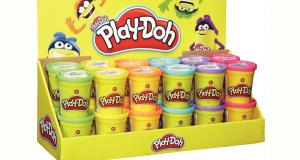 10 lot de 20 pots de pâte à modeler Play-Doh offerts