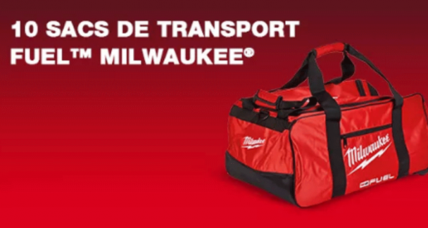 10 sacs de transport Fuel offerts