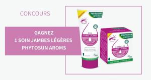 10 soins jambes légères Phytosun Aroms offerts