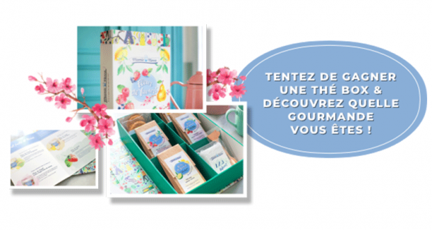 10 thé box Fleur de yaourt offertes