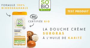 100 Crème de Douche à l'huile de Karité SO'BiO étic à tester