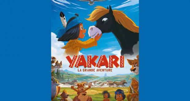 100 lots de 2 places de cinéma pour le film Yakari offerts