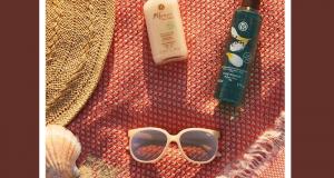 2 lots de 9 produits Yves Rocher + paire de lunettes de soleil