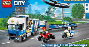 25 boites Lego City offertes