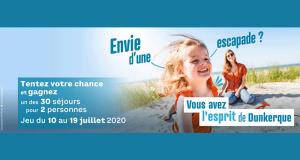 30 séjours de 4 jours à Dunkerque offerts