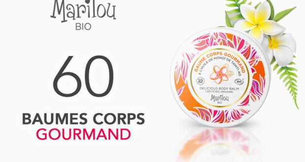 60 Baume Corps Gourmand Tahiti Marilou Bio à tester