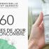 60 crème de jour de Mademoiselle Saint Germain à tester