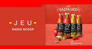 70 kits de 4 bouteilles Gazpacho Innocent offerts