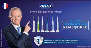 Brosse à Dents Electrique Oral B Satisfait ou 100% Remboursé