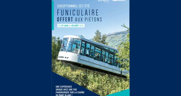 Funiculaire gratuit entre Bourg Saint Maurice et Les Arcs