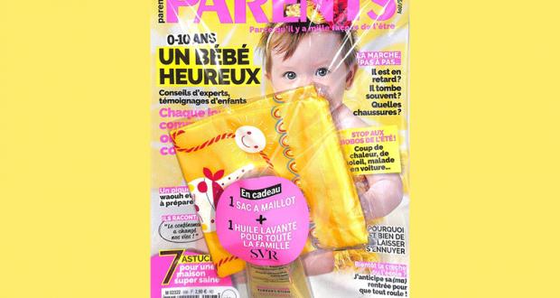 Huile lavante SVR + sac à maillot offerts avec Parents Magazine
