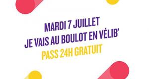 Pass 24h de Vélib' gratuit