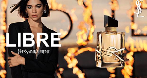 Échantillons gratuits du parfum Libre Yves Saint Laurent