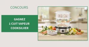 10 cuits vapeur CookSilver offerts
