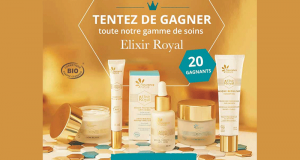20 gammes de 5 produits de soins Elixir Royal offertes