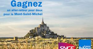 30 A-R pour 2 personnes pour le Mont-Saint-Michel à gagner