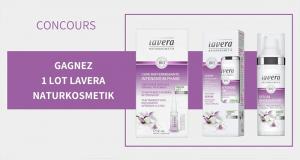 5 lots de 3 produits de soins Lavera offerts