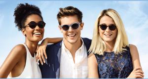 5 paires de lunettes de soleil Optic 2000 offertes